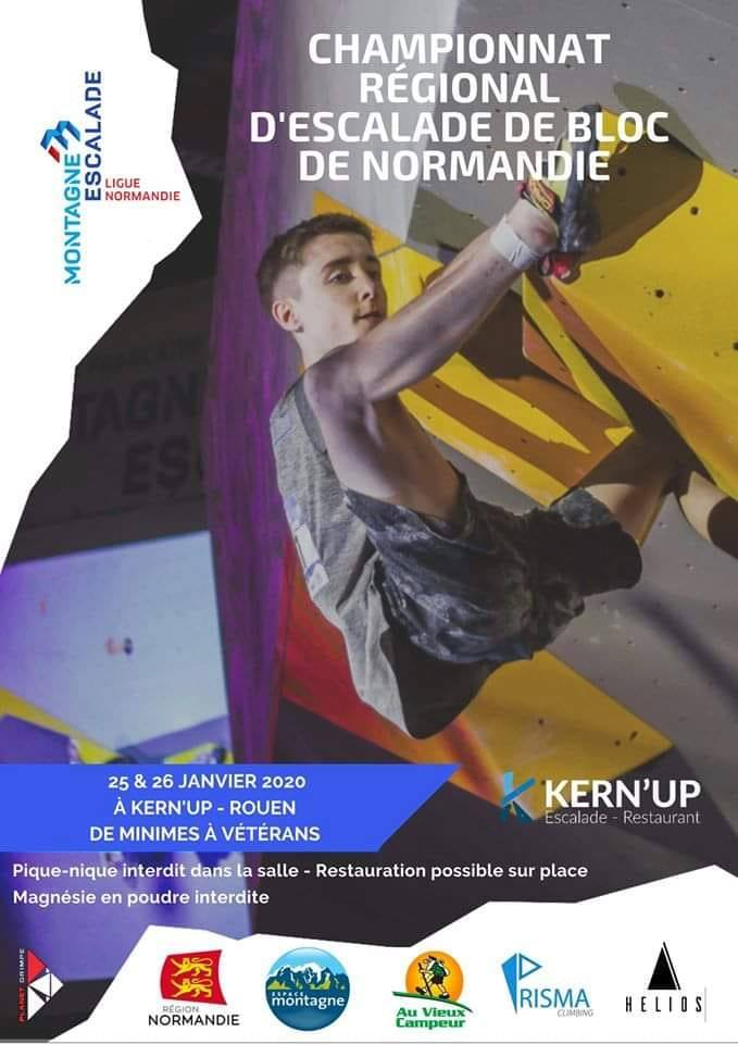 Championnat Régional d'Escalade De Bloc De Normandie