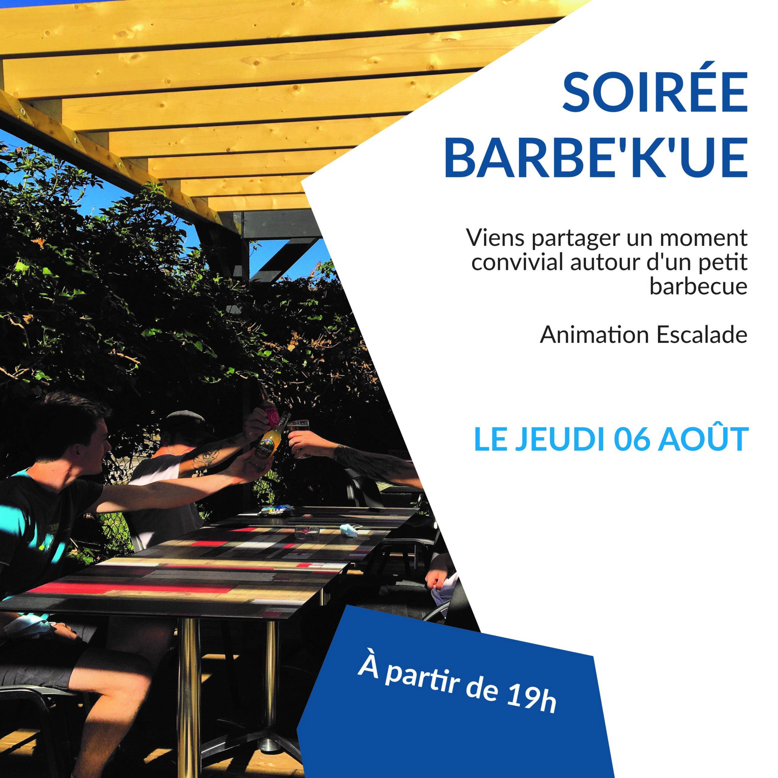 SOIRÉE BARBE'K'UE 2ème édition !
