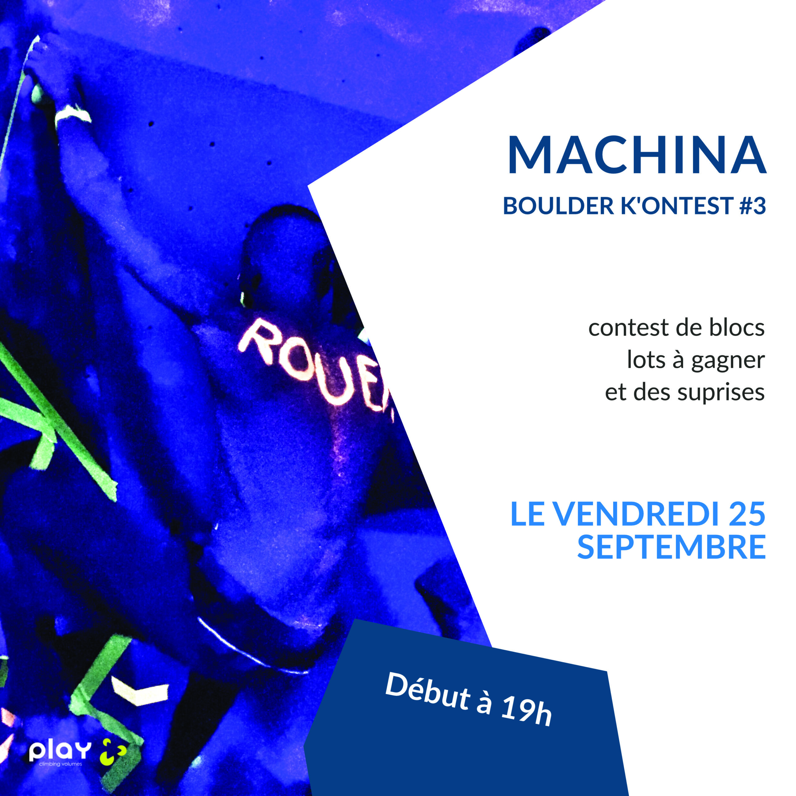 Machina Boulder K'ontest #3 – Fluo