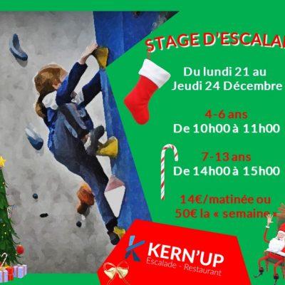 Stage Noël 2020